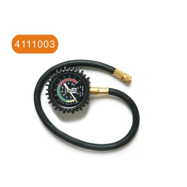 Tire inflating gauge
