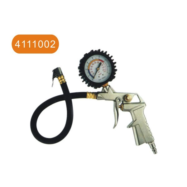 Air tire inflating gun