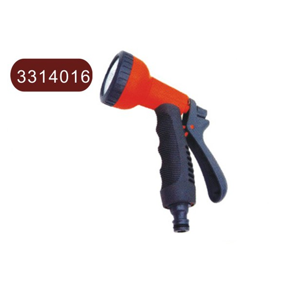 Plastic shower spray gun, soft dense spray