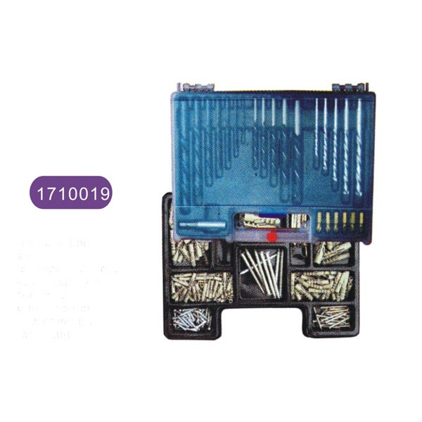 300pcs combination drill bit set