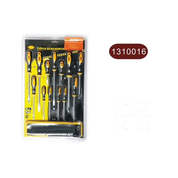14pcs screwdriver set