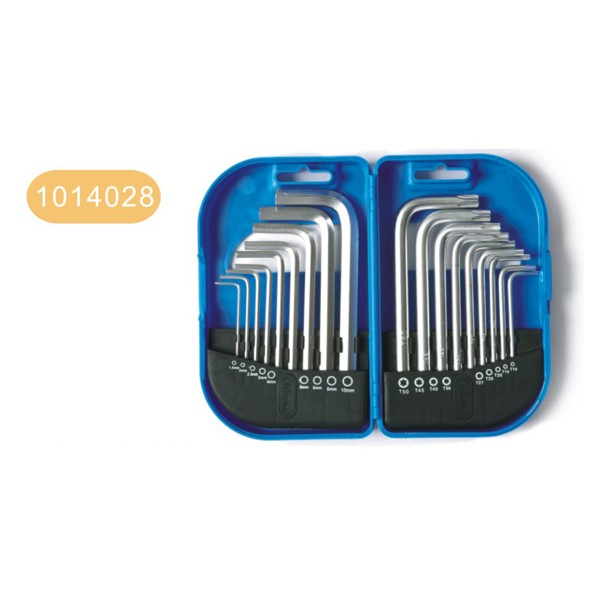 18pcs hex key wrench set