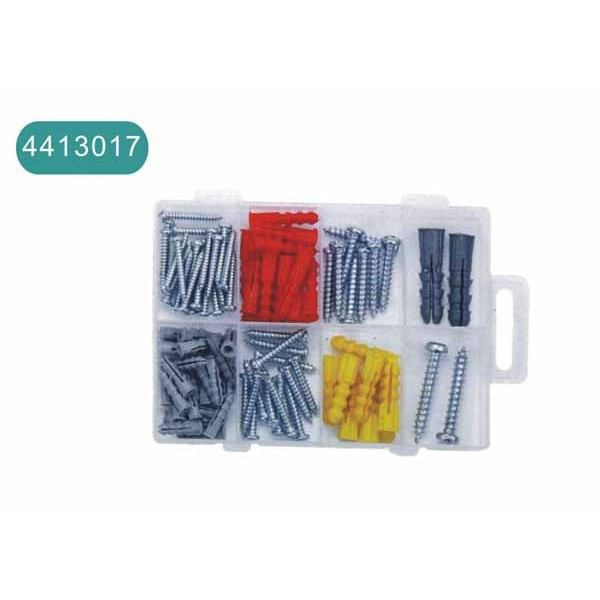 100pcs nail and screw set