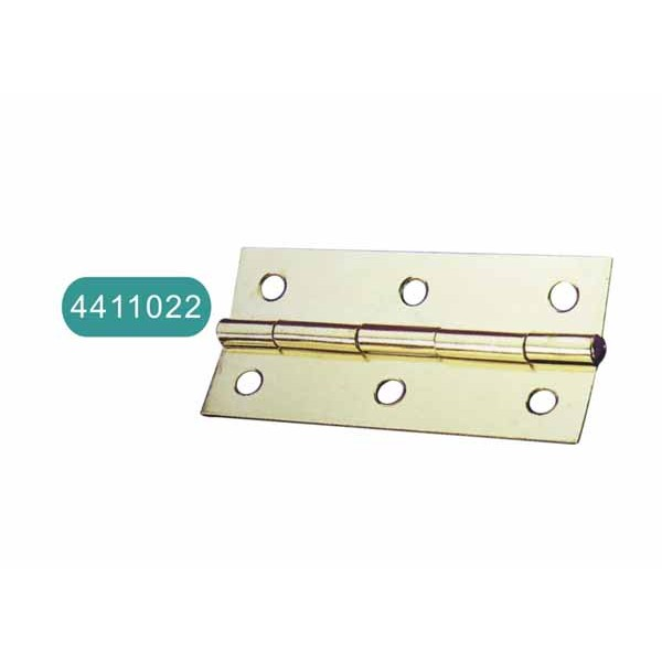 Bright light iron hinge