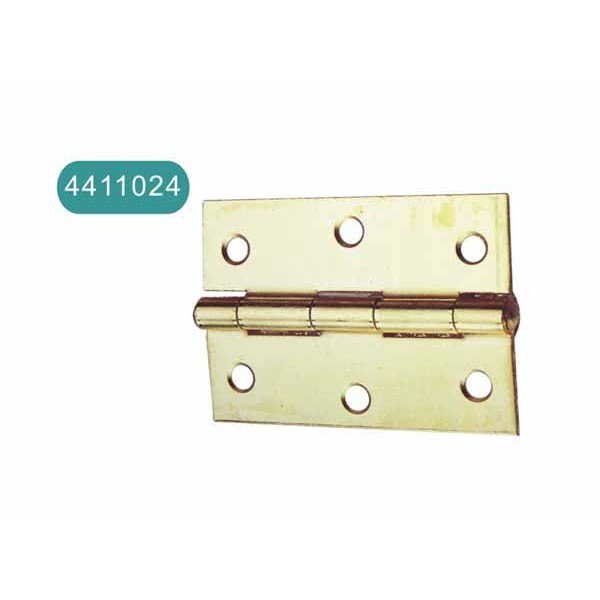 Bright heavy iron hinge