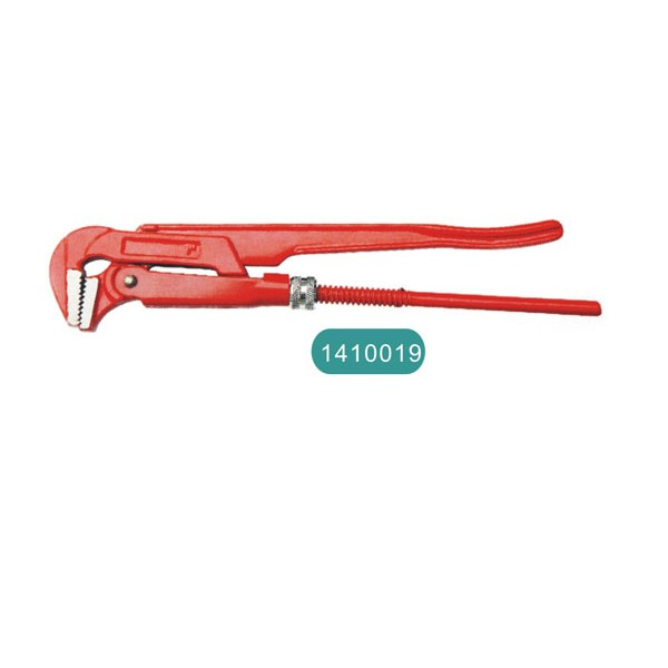 90° bent nose pipe wrench